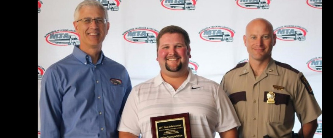 Trust That Your Freight is in Safe Hands. - 2017 MTA Fleet Safety Award Winner